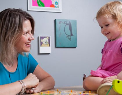 Psychology Research Tempts Toddlers with Toys