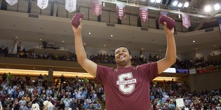 Former Football Player Joins CofC's Dance Team