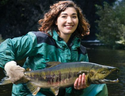 Marine Biologist Helps Save Salmon and Steelhead In Pacific Northwest