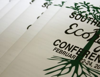 Taking Research on the Road – Students Present at 2016 EcoReps Conference