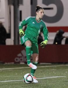 Eli Sarasola '14 playing for AFC Ajax.