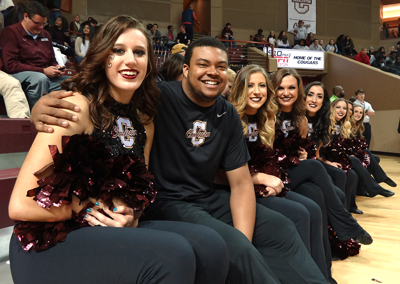 Tags Dance Teams New Members: Former Football Player Joins CofC's Dance Team