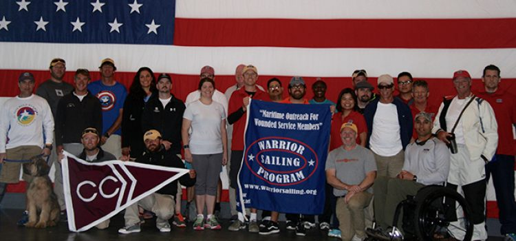 Wounded Veterans, Warrior Sailing Program Visit the College of Charleston