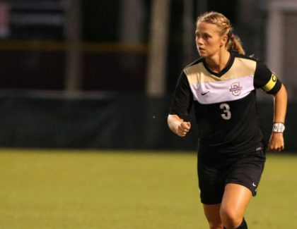 Senior Soccer Player Wraps Up College Career With Success On and Off The Field