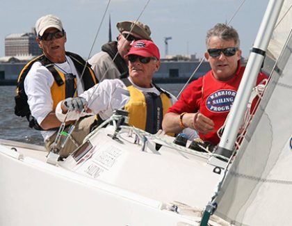 Warrior Sailing Program Takes on Sperry Charleston Race Week