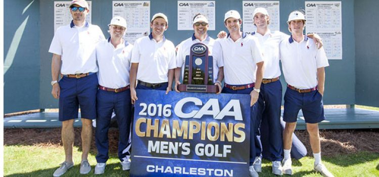 Men's Golf Captures Conference Championship