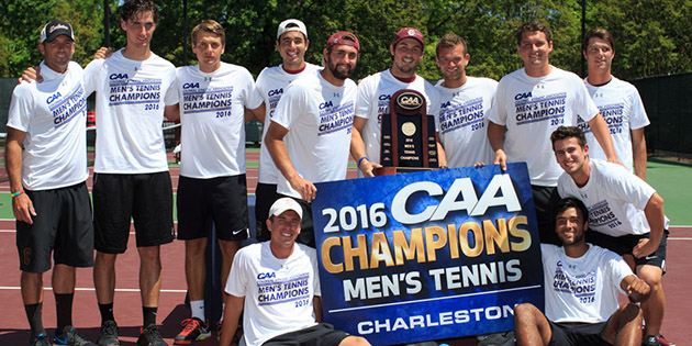Men's Tennis Claims Conference Title