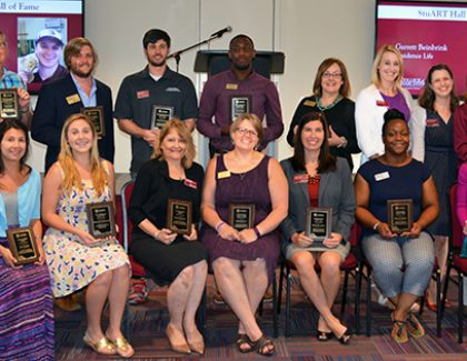 Student Affairs Staff Recognized for Dedication to Students
