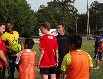 CofC Partners With UK Soccer Program To Help North Charleston Youth