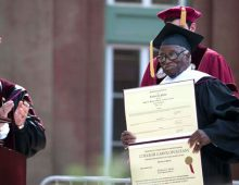 College Holds Spring 2016 Commencement