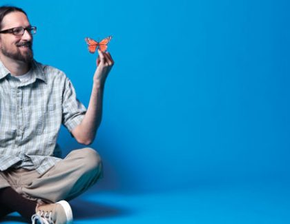 How a Butterfly Changed Todd LeVasseur's World, and In Turn the College's