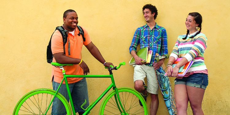 In Praise of Two Wheels – Bicycle Commuters Thrive at the College