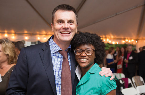 Alumni Scholars Reception (fall 2015): Gary Thomas '83 and Ka'Dedra Andrea Creech