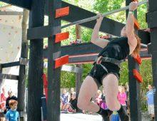CofC Student Competes on American Ninja Warrior