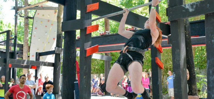 CofC Student Competes on American Ninja Warrior