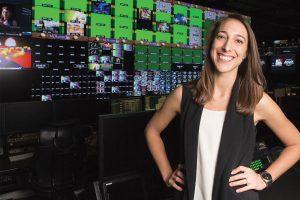 Becca Shaw '06 has turned her love of sports into a career with MLB Advanced Media.