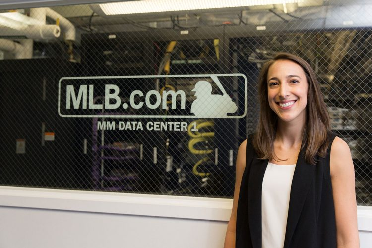 Major League Baseball's Digital Diva