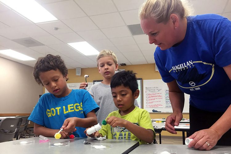 School Children Have Fun with Science at CofC Camp