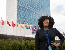 Alumna Does a World of Good at U.N.