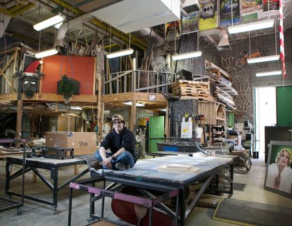 My Space: Scene Shop, Emmett Robinson Theatre