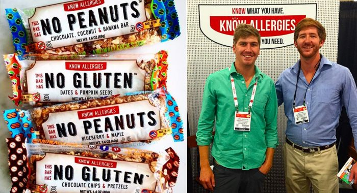 Alum Invents Allergy-Free Snack After Near-Death Experience