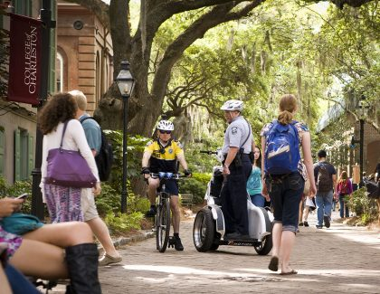CofC Kicks Off National Campus Safety Awareness Month