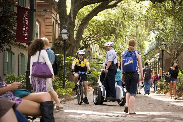 CofC Wraps Up National Campus Safety Awareness Month with a Series of Events