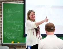 Students Rank CofC's Devon Hanahan Top Professor in U.S.