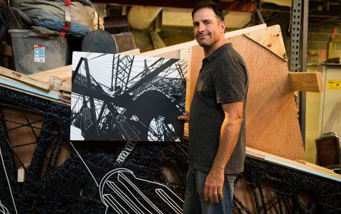 Professor Sculpts Students' Skills With Art Jobs