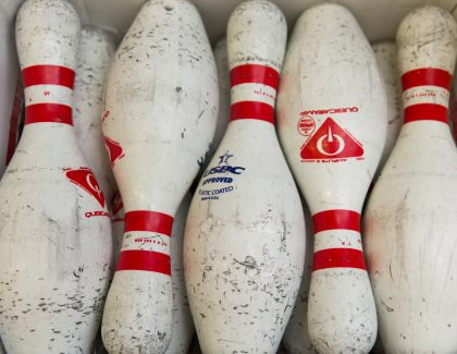 Alum Finds His Lane in Bowling Alley