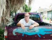 Alum's Art Raises Funds for Flooded Louisiana Schools