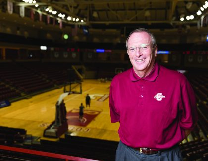 Jerry Baker Comes Home to Cougar Club