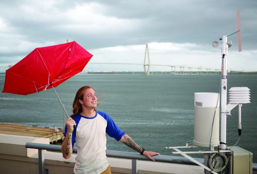 Meteorology Student Looks to the Clouds