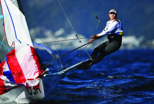 Olympians Seek the Point of Sail