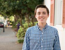 Freshman Loves 'Rush' of Solving Math Problems