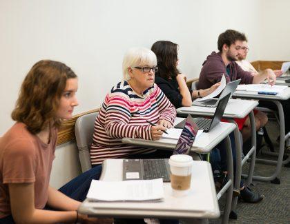 Senior Citizen Pursues Lifelong Goal to Earn Degree