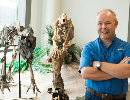 Paleontologist Shines New Light On Old Bones