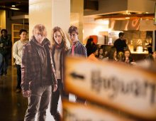 Students Savor Harry Potter Thanksgiving Feast