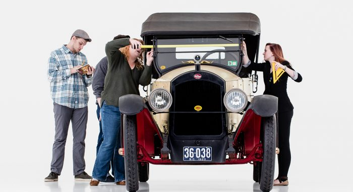 Historic Preservation Students Drive Research on Classic Car