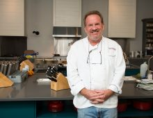 Celebrity Chef Cooks for CofC Class