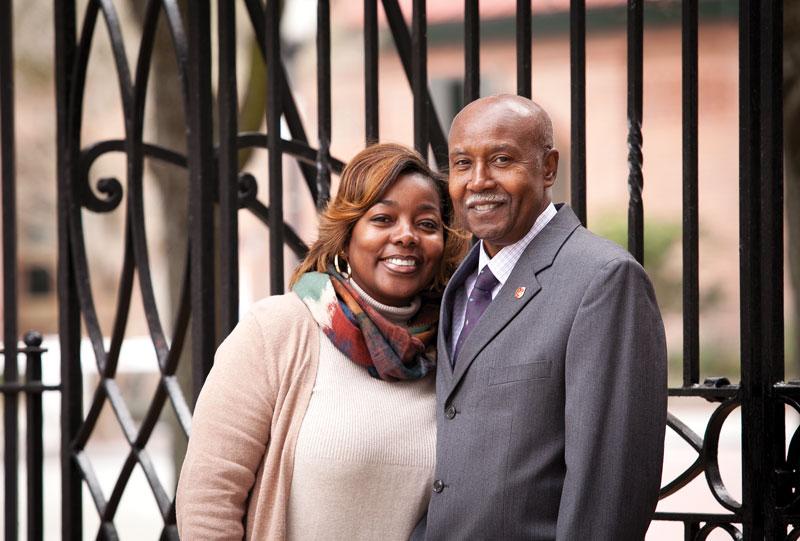 Josephine and Andrew Lewis