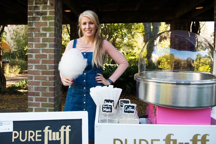 Alum's Cotton Candy Cart is Sweet Business