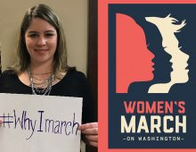 Grad a Key Player in Women's March on Washington