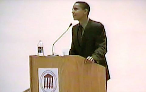 President Obama's Little-Known First Visit to CofC