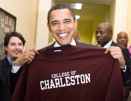 President Obama's Indelible Moments at CofC