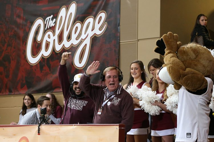 CofC President Makes Surprise Appearance as 'DJ Glenn McCoco' at Homecoming Game