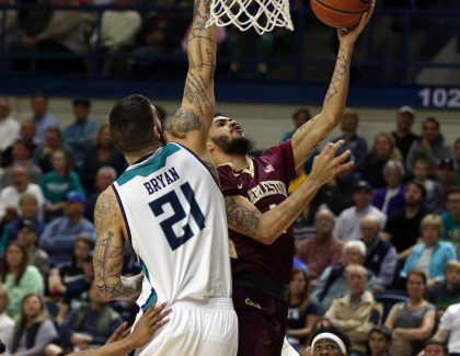 Cougars Upset UNCW, Move Into First-Place Tie in CAA