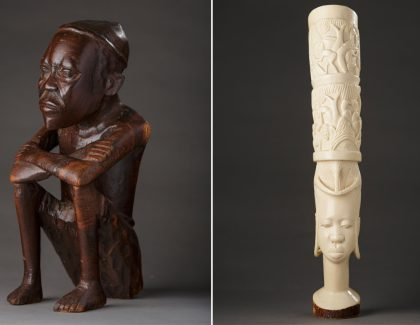 African Art Exhibit to Open in Addlestone Library
