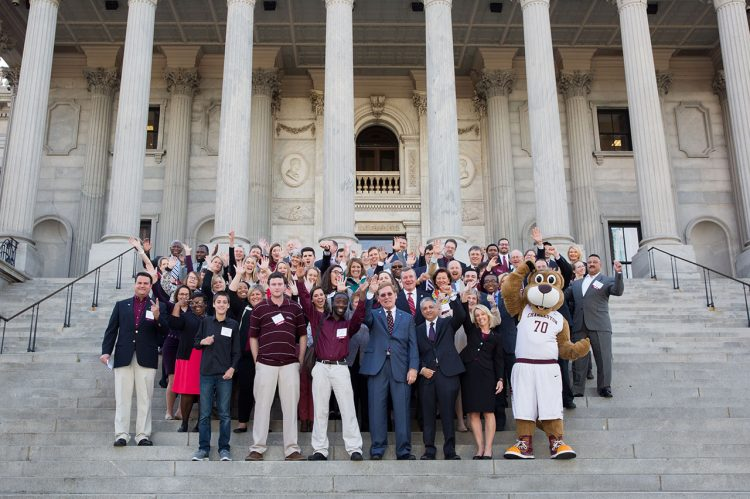 CofC Celebrated at 'College of Charleston Day' at SC State House