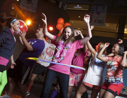 CofC Students to Whip, Nae Nae for Kids at Annual Dance Marathon